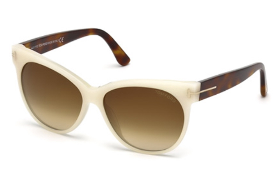 Tom Ford FT0330 Sunglasses in 20F Gray / Other / Gradient Brown
