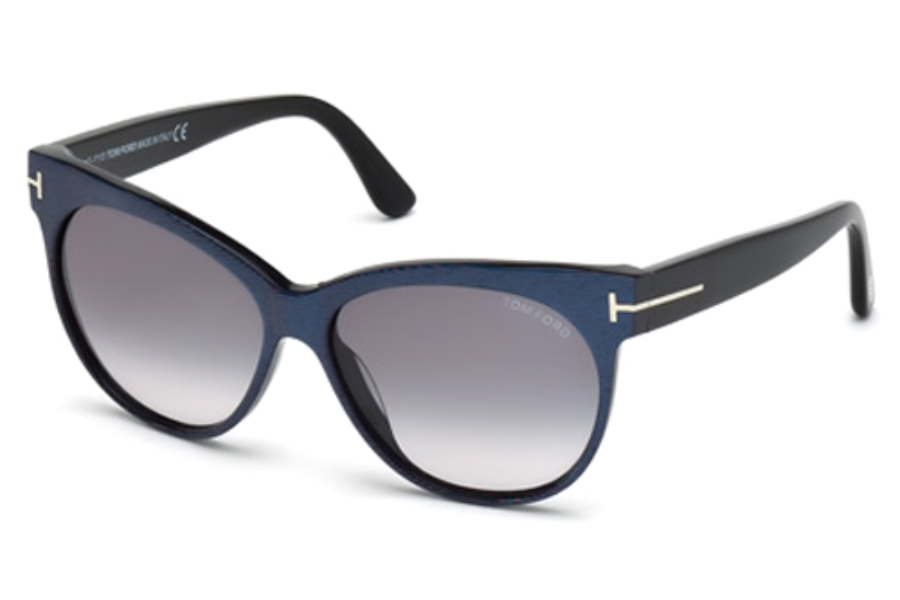 Tom Ford FT0330 Sunglasses in 82B Matte Violet / Gradient Smoke