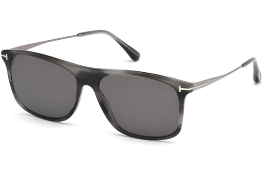 Tom Ford FT0588 Max-02 Sunglasses in 20A - Grey/Other / Smoke