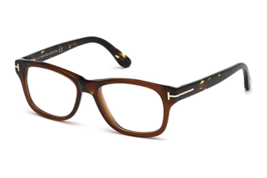 Tom Ford FT5147 Eyeglasses in 050 Dark Brown/Other