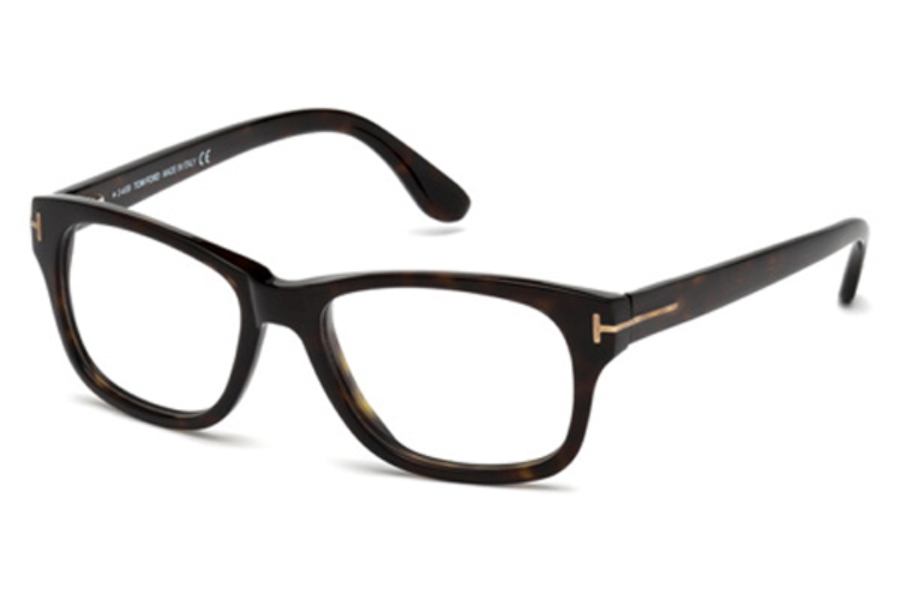 Tom Ford FT5147 Eyeglasses in 052 Dark Brown