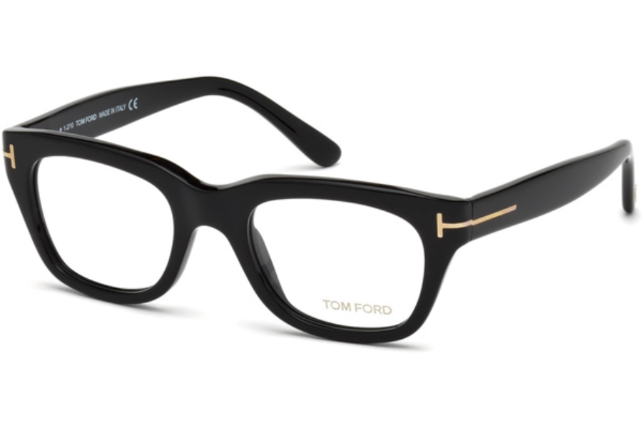 Tom Ford FT5178-F Eyeglasses in 001 - Shiny Black