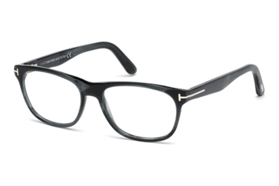 Tom Ford FT5431 Eyeglasses in 064 - Coloured Horn