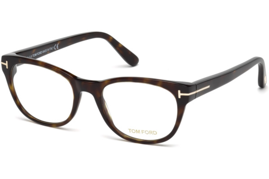 Tom Ford FT5433-F Eyeglasses in 052 - Dark Havana