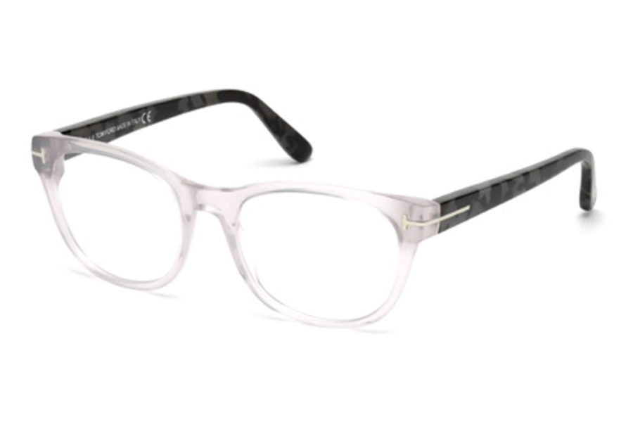 Tom Ford FT5433 Eyeglasses in 020 - Grey/Other (Discontinued)