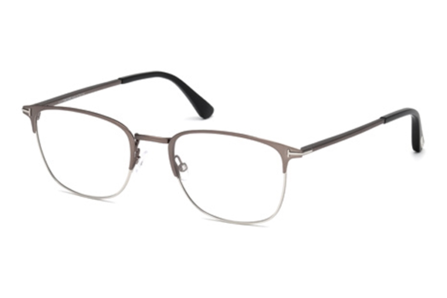 Tom Ford FT5453 Eyeglasses in 013 - Matte Dark Ruthenium