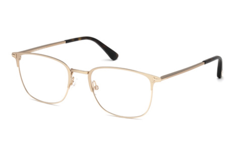 Tom Ford FT5453 Eyeglasses in 029 - Matte Rose Gold