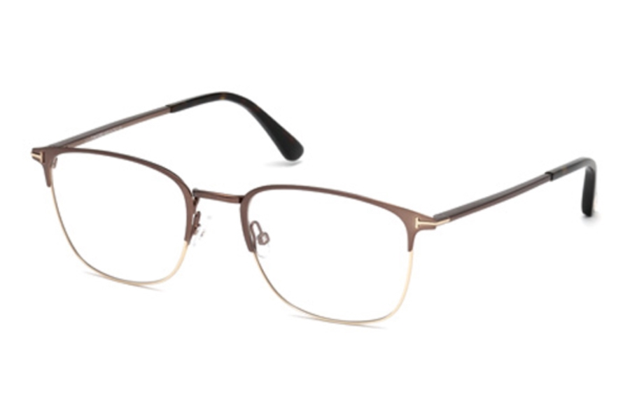 Tom Ford FT5453 Eyeglasses in 049 - Matte Dark Brown