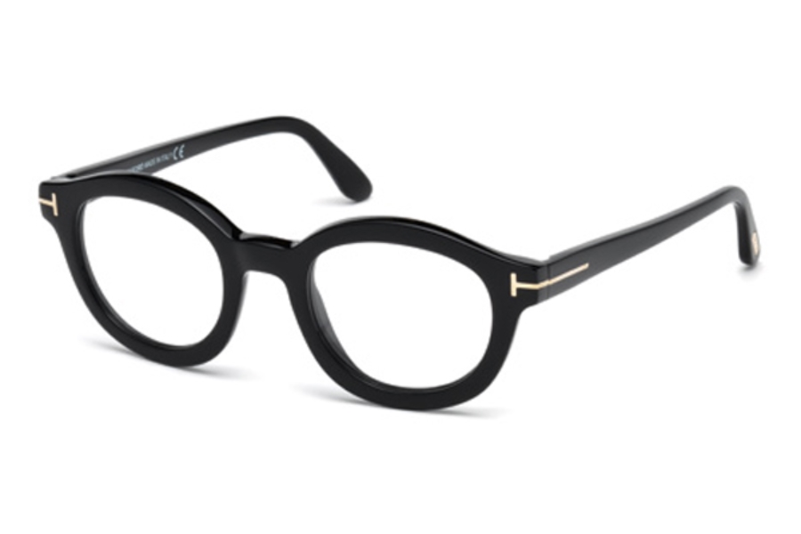 Tom Ford FT5460 Eyeglasses in 001 - Shiny Black