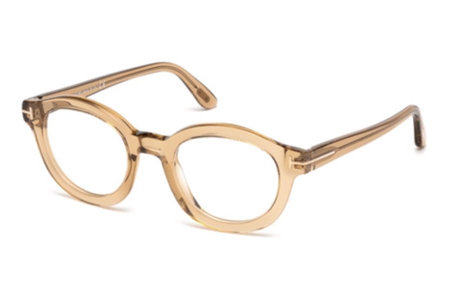 Tom Ford FT5460 Eyeglasses in 045 - Shiny Light Brown