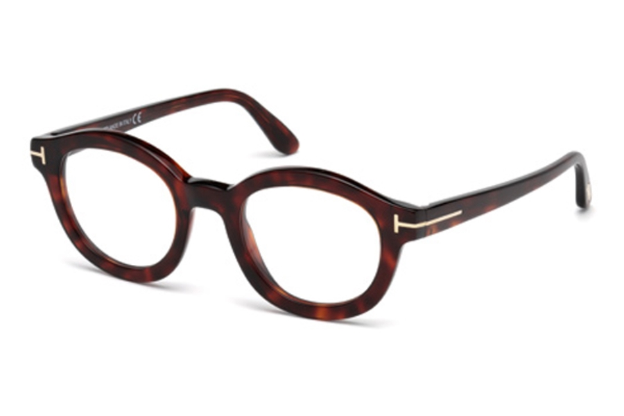 Tom Ford FT5460 Eyeglasses in 054 - Red Havana