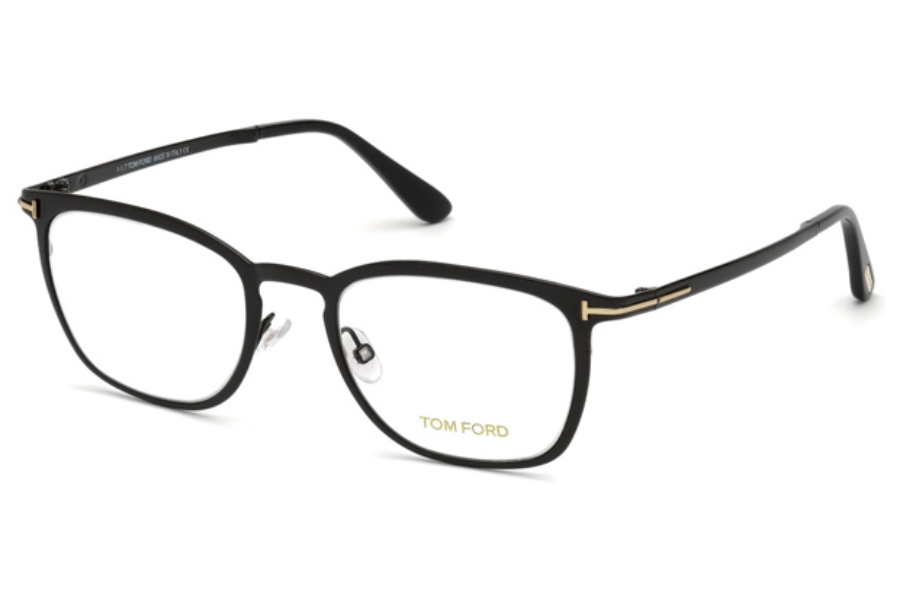 Tom Ford FT5464 Eyeglasses in 001 - Shiny Black