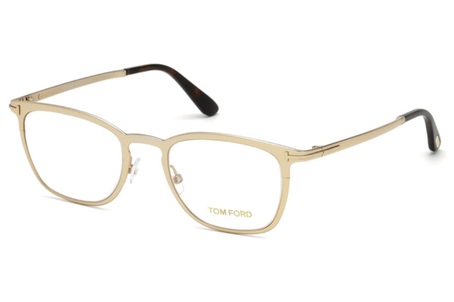 Tom Ford FT5464 Eyeglasses in 028 - Shiny Rose Gold