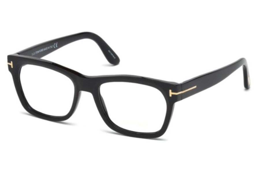 Tom Ford FT5468 Eyeglasses in 002 - Matte Black