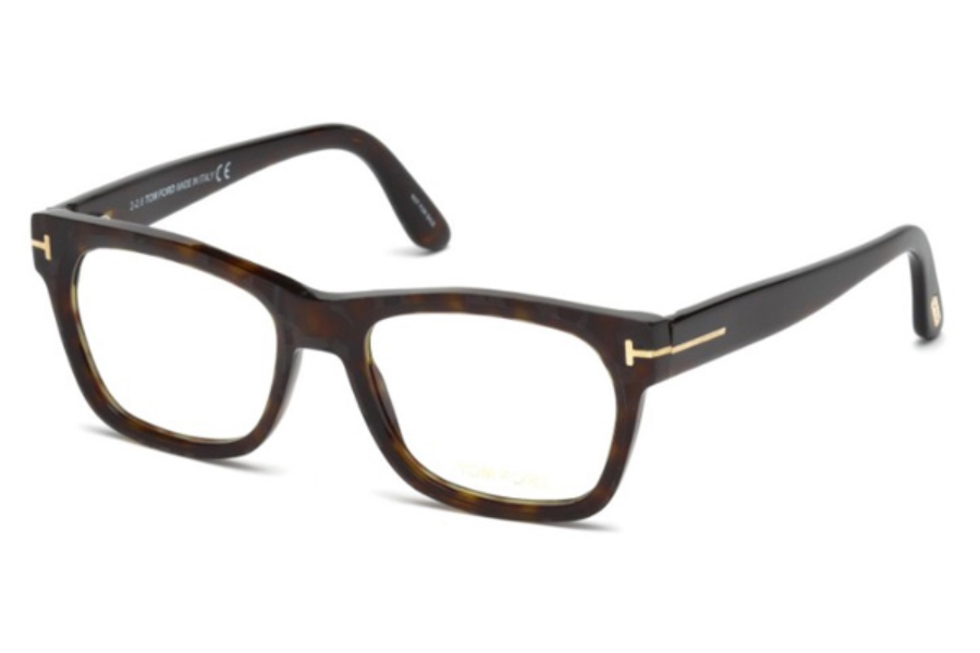Tom Ford FT5468 Eyeglasses in 052 - Dark Havana