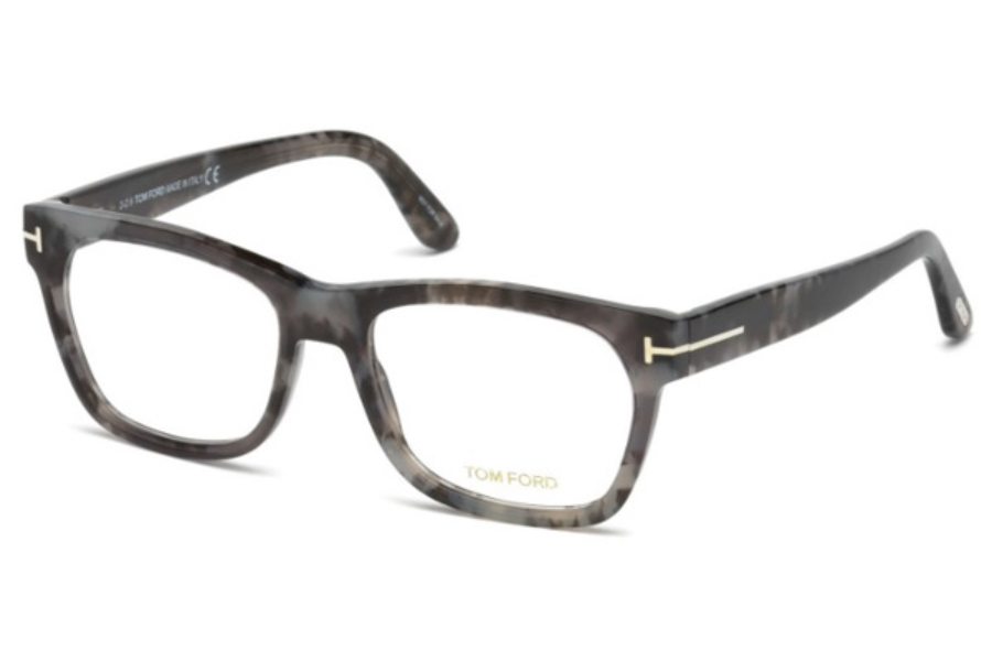 Tom Ford FT5468 Eyeglasses in 056 - Havana/other