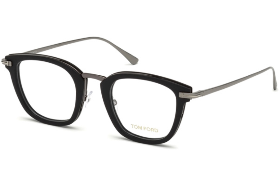 Tom Ford FT5496 Eyeglasses in 005 - Black/Other
