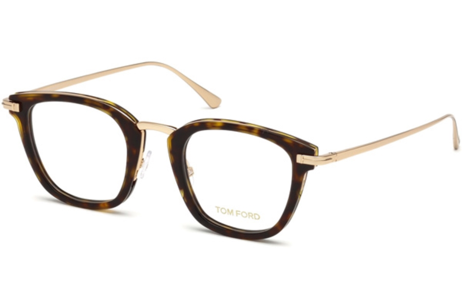Tom Ford FT5496 Eyeglasses in 052 - Dark Havana