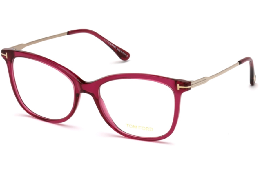 Tom Ford FT5510 Eyeglasses in 081 - Shiny Violet