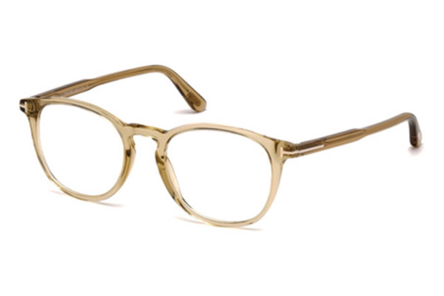 Tom Ford FT5401 Eyeglasses in 045 - Shiny Light Brown