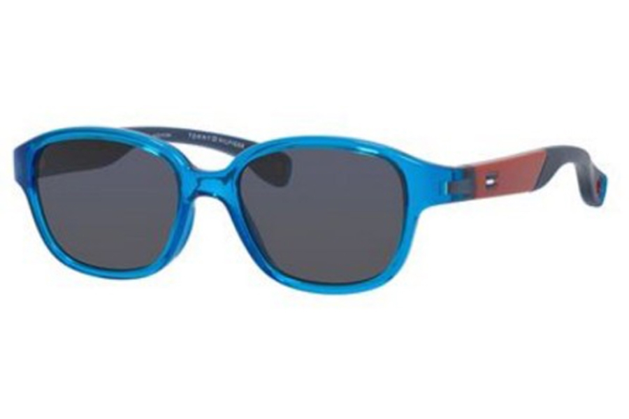 Tommy Hilfiger TH 1499/S Sunglasses in 0MVU Azure (IR gray blue lens)