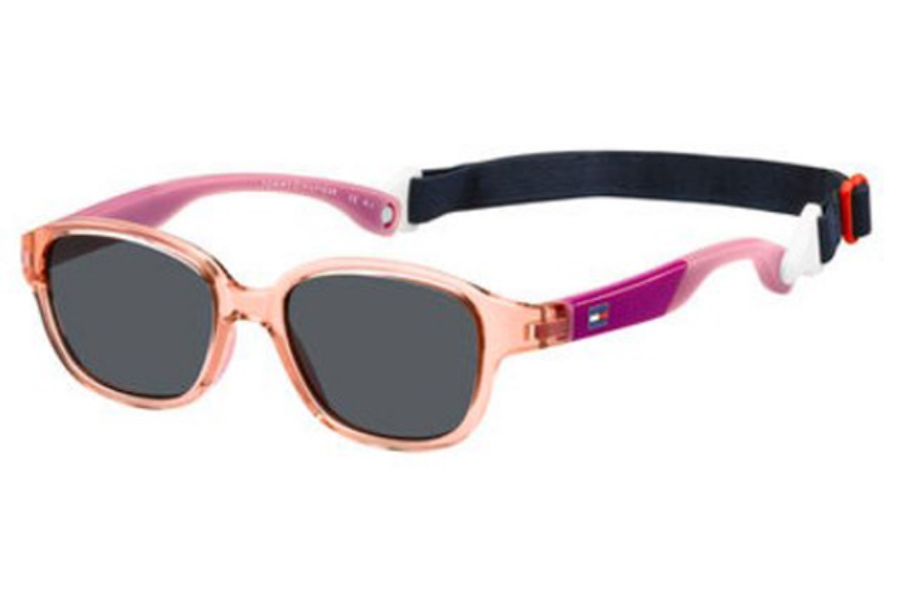Tommy Hilfiger TH 1499/S Sunglasses in 0S8R Light Pink (IR gray blue lens)