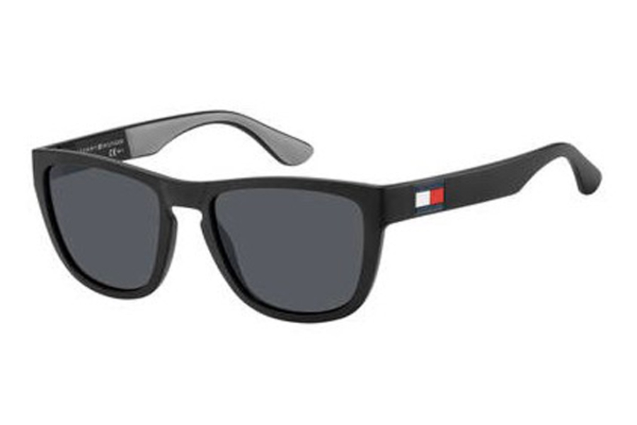 Tommy Hilfiger Sunglasses TH 1557//S FRE XT Matt Grey Blue Mirror