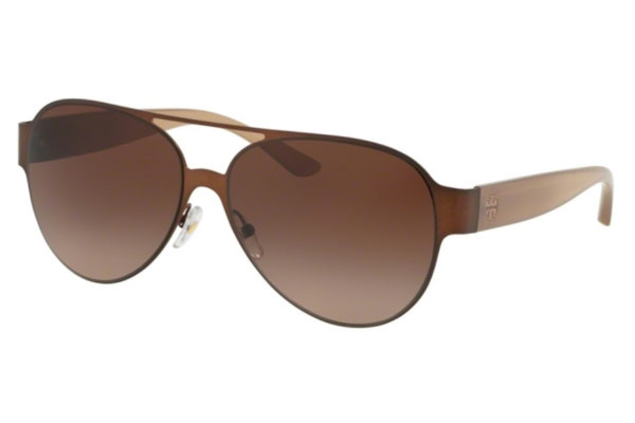 Tory Burch TY6066 Sunglasses in 326813 Brown / Dark Brown Gradient