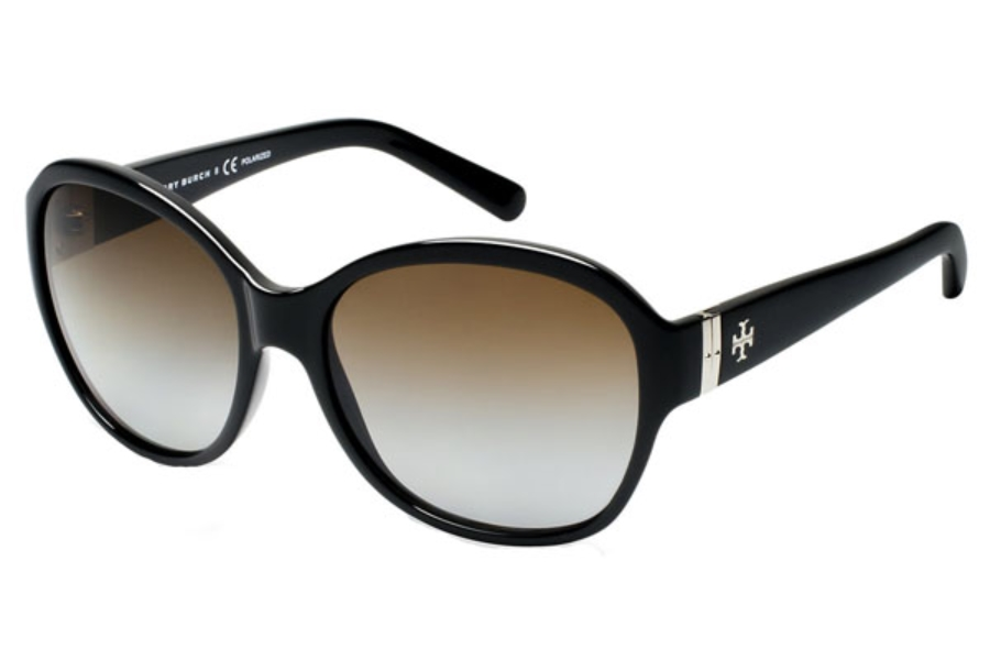 fd36c1c464dc Tory Burch TY9029 Sunglasses in 501T5 Black Brown Gradient Polarized ...