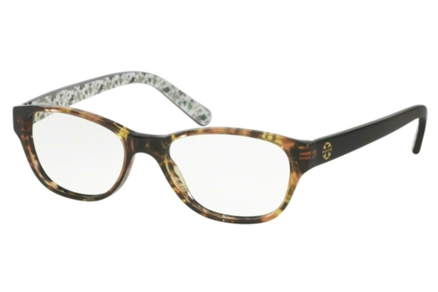 2dd8318888 ... Tory Burch TY2031 Eyeglasses in 3154 Yellow Tort Black Batik (49  Eyesize Only) ...