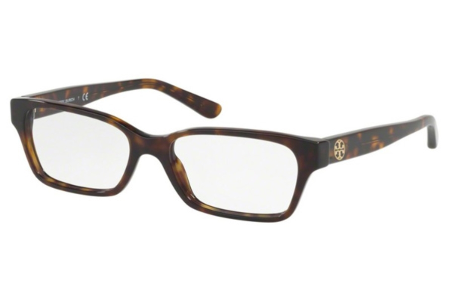 Tory Burch TY2080 Eyeglasses in 1378 Dark Tortoise