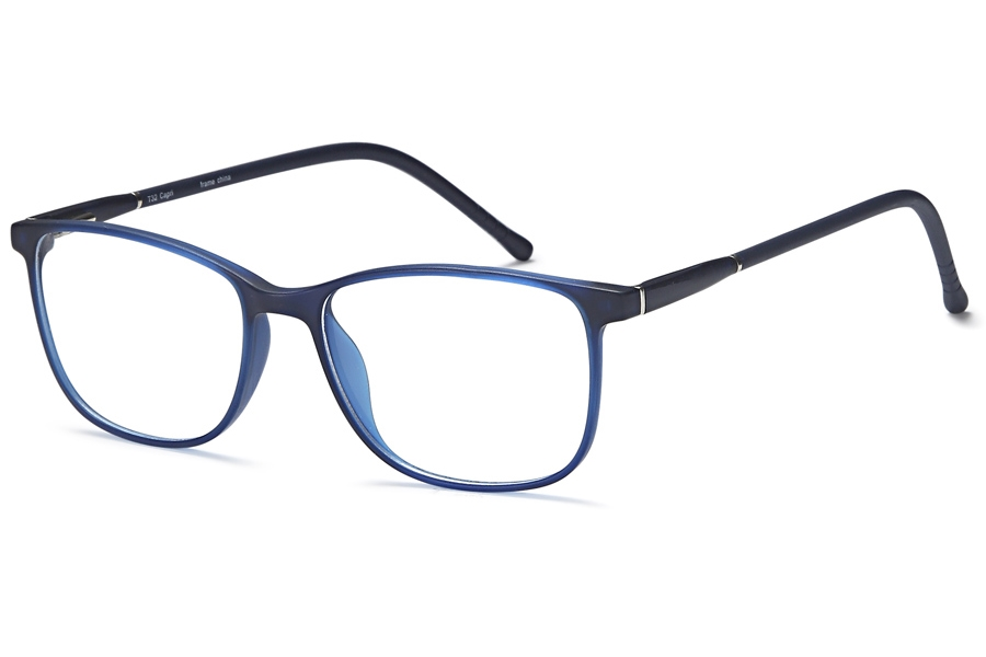 Capri Optics Trendy T32 Eyeglasses in Blue