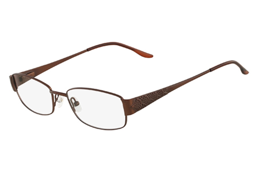 Tres Jolie Tres Jolie 152 Eyeglasses in 234 Satin Brown Sierra