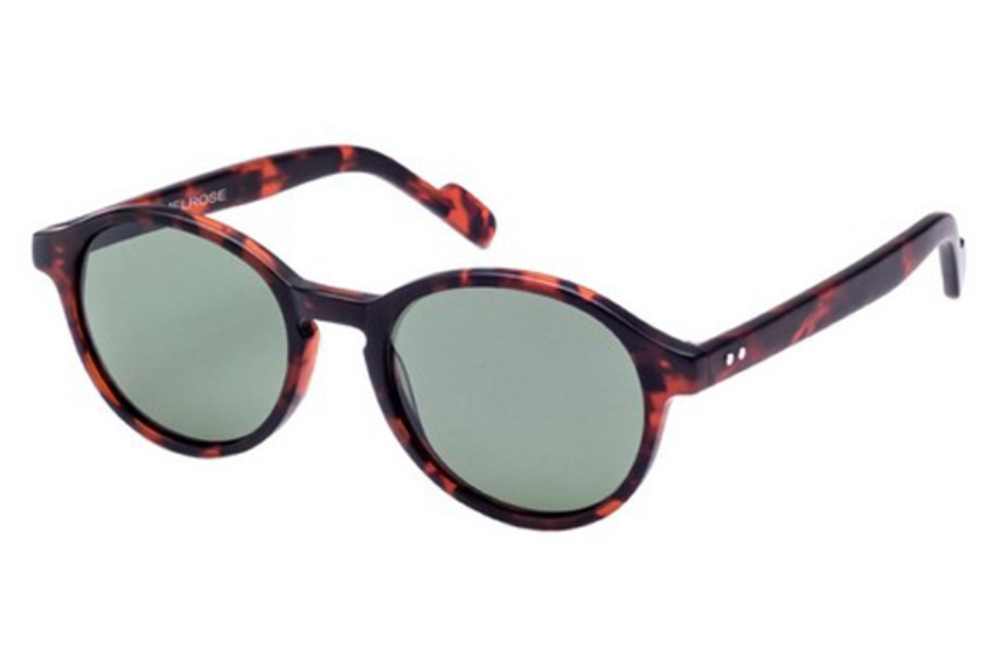 Crimson Visual Melrose Sunglasses in Matte Havana Tortoise / G15 Polarized