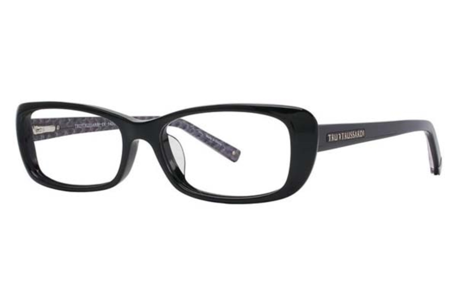 TRUSSARDI TR 12703 Eyeglasses in BK Black [53-16-140]