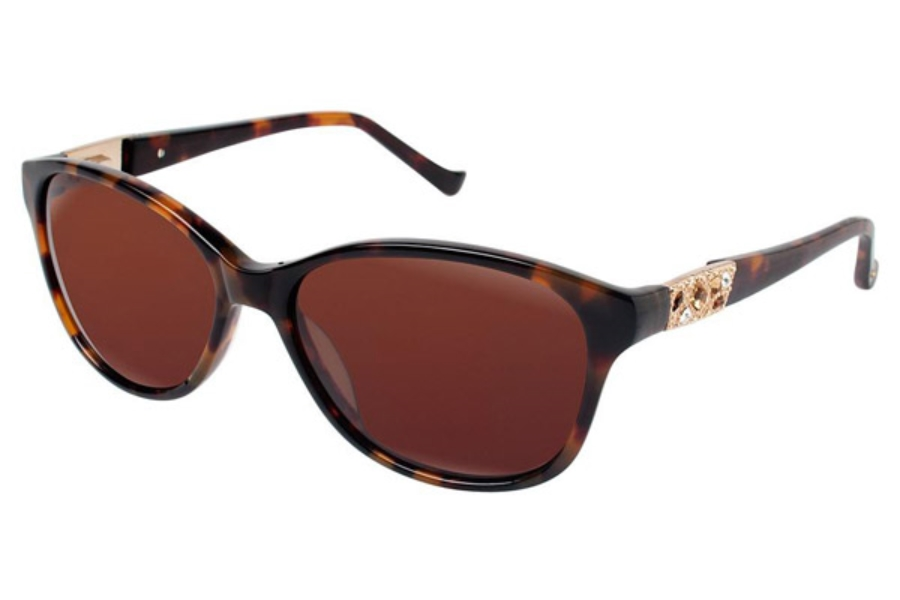 Tura 054 Sunglasses in TOR Tortoise