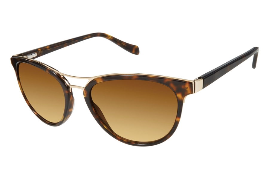 Tura by Lara Spencer LS516 Sunglasses in TOR Tortoise