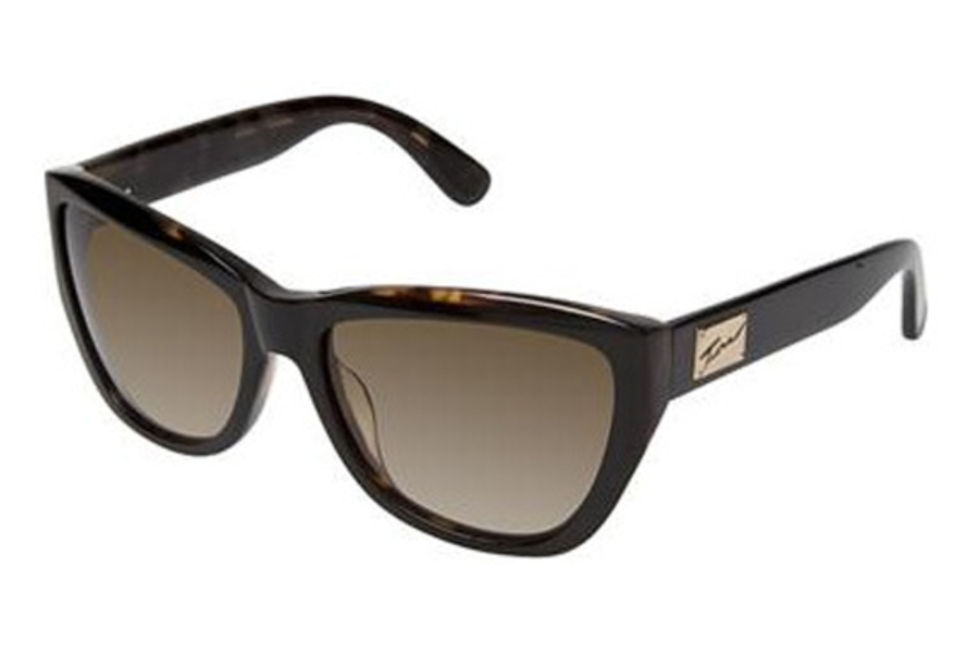 Tura 007 Sunglasses in EBON  BLACK/TORTOISE