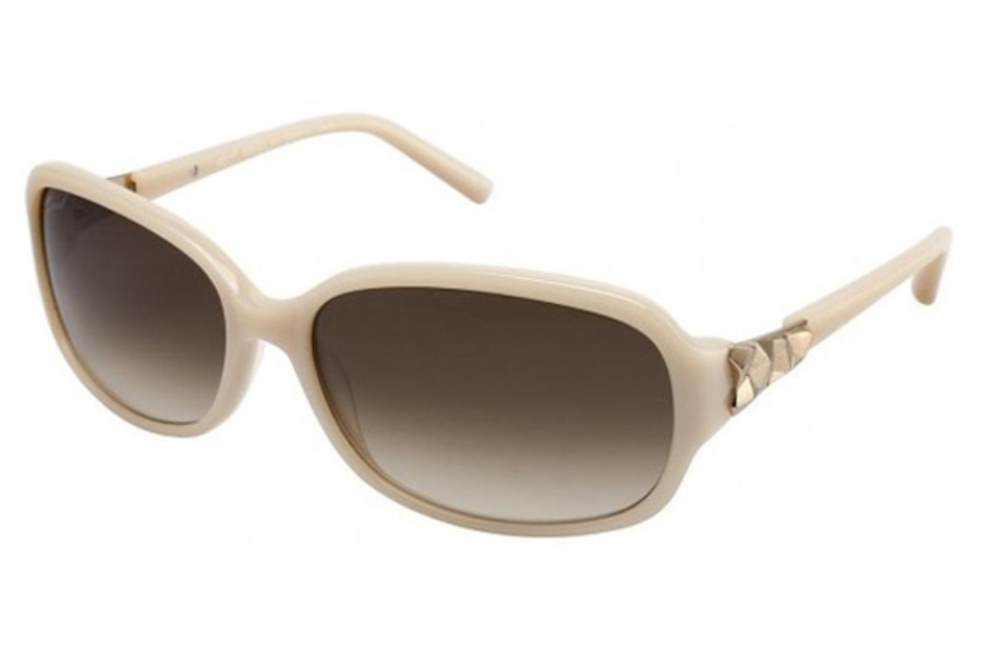 Tura 022 Sunglasses in IVORY W/MATTE GOLD (IVO)
