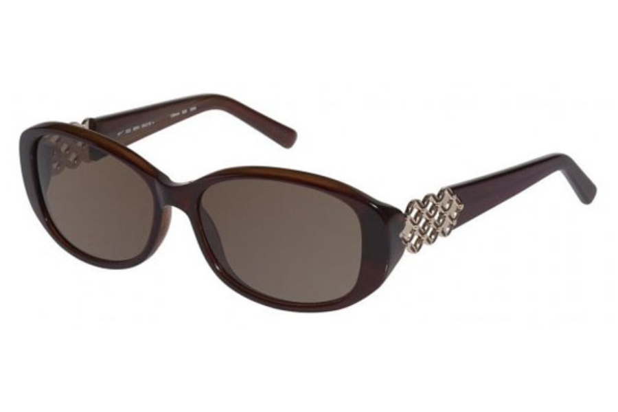 Tura 020 Sunglasses in Brown