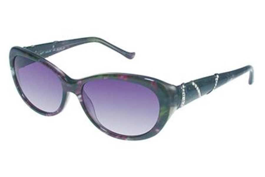 Tura 026 Sunglasses in GRA GRAY MARBLE