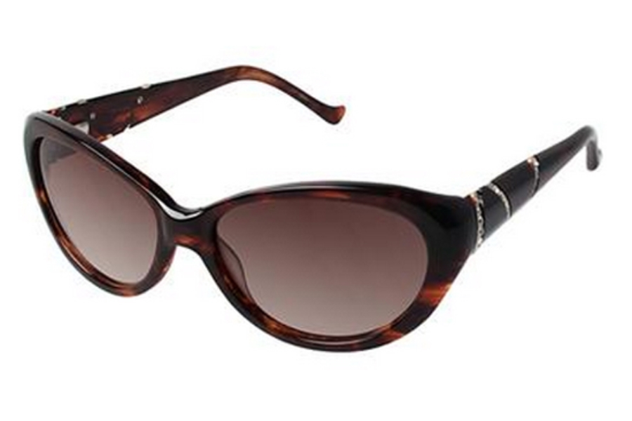 Tura 026 Sunglasses in TOR Brown Tortoise