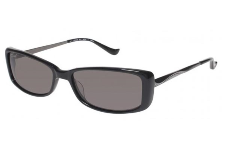 Tura 028 Sunglasses in BLACK (BLK)