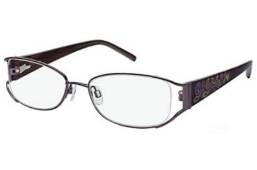 Tura 182 Eyeglasses in Eggplant