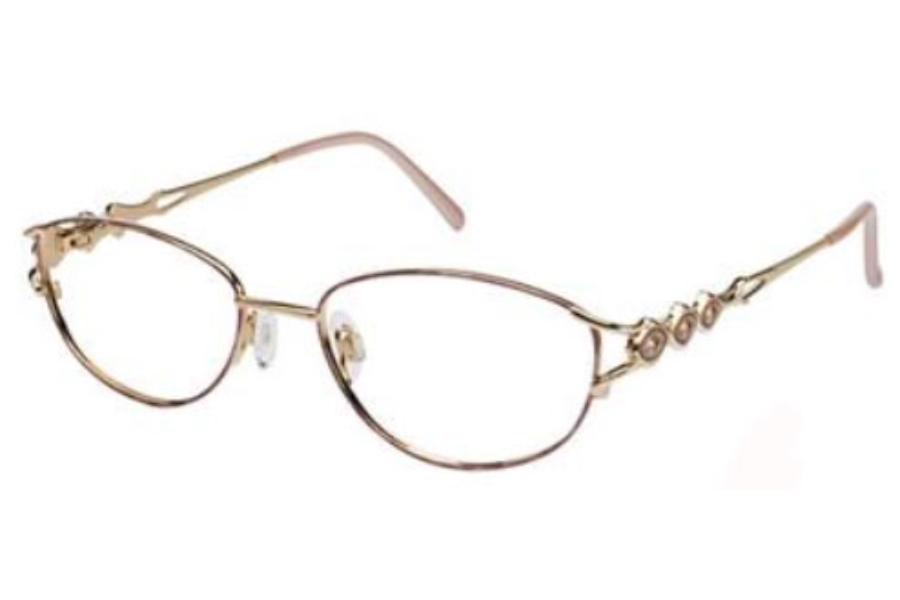 Tura 189 Eyeglasses in DEMI-ROSE/GOLD