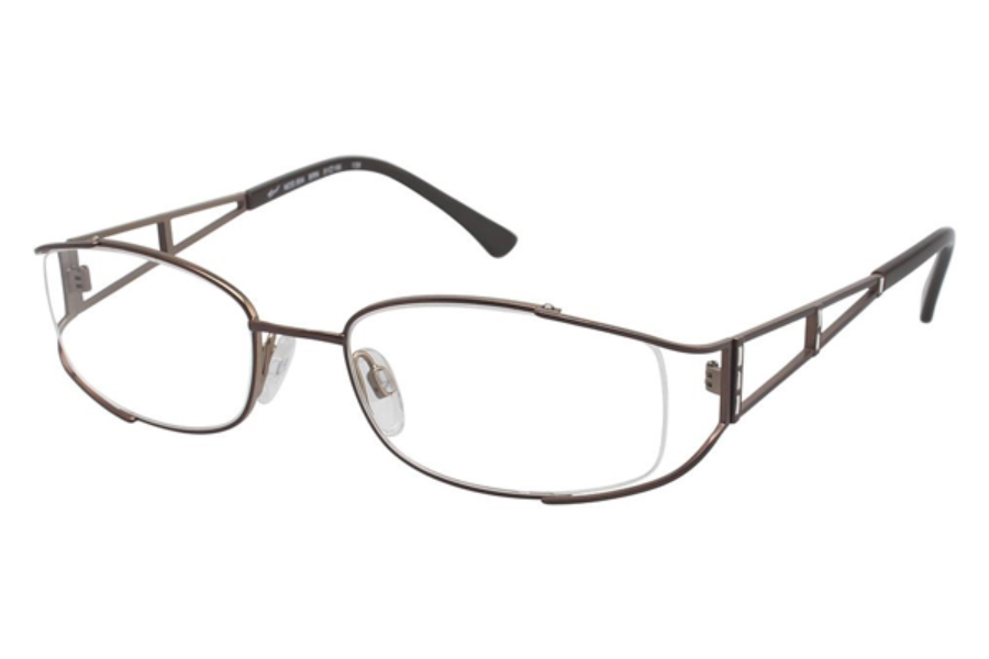 Tura 654 Eyeglasses in BROWN (BRN)