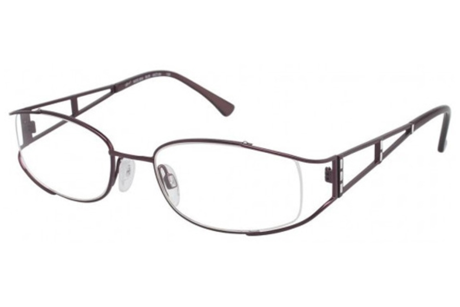 Tura 654 Eyeglasses in BURGUNDY (BUR)