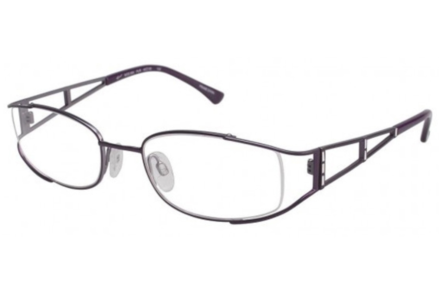 Tura 654 Eyeglasses in PURPLE (PUR)