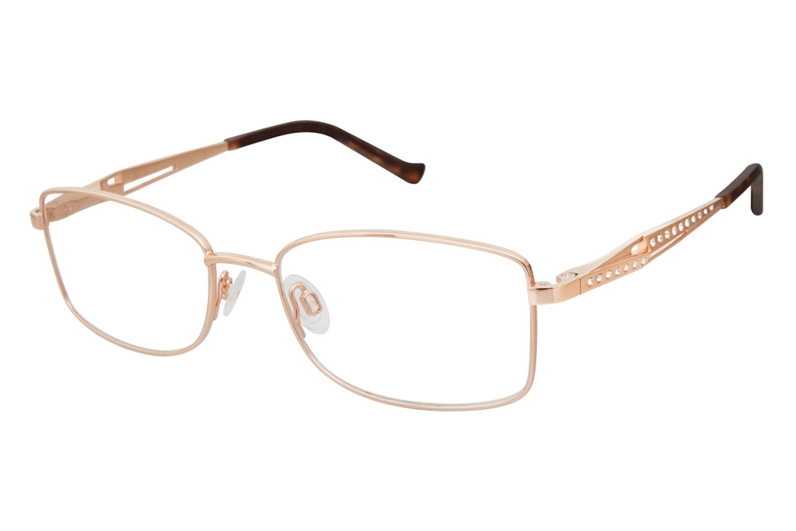 Tura R130 Eyeglasses in RGD Rose Gold