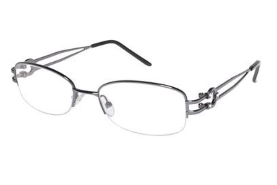 Tura R301 Eyeglasses in Dark Gun (DKG)
